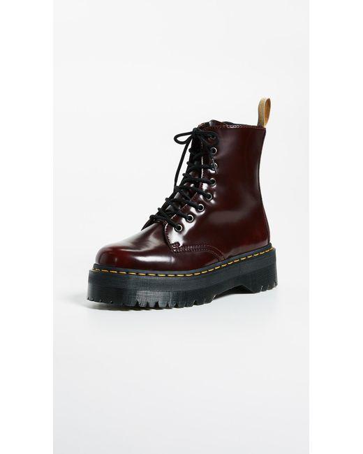 b325480309fe Dr. Martens - Multicolor V Jadon Ii 8 Eye Boots - Lyst ...