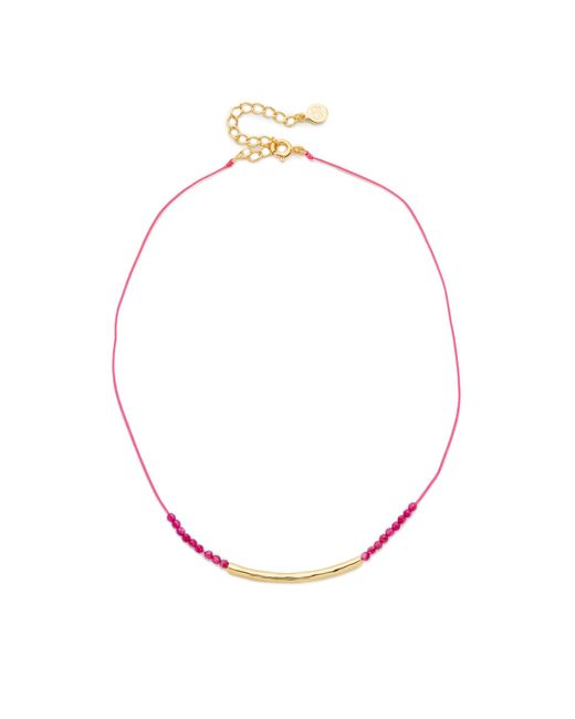 Gorjana | Multicolor Power Gemstone Choker Necklace | Lyst