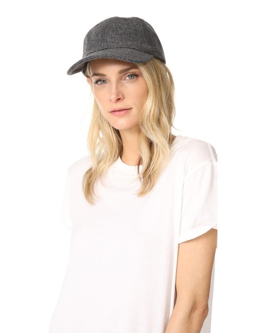 Madewell | Multicolor Wool Blend Baseball Hat | Lyst