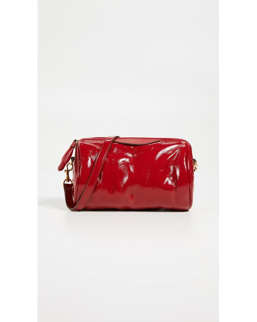 Anya Hindmarch - Red Chubby Barrel Crossbody Bag - Lyst