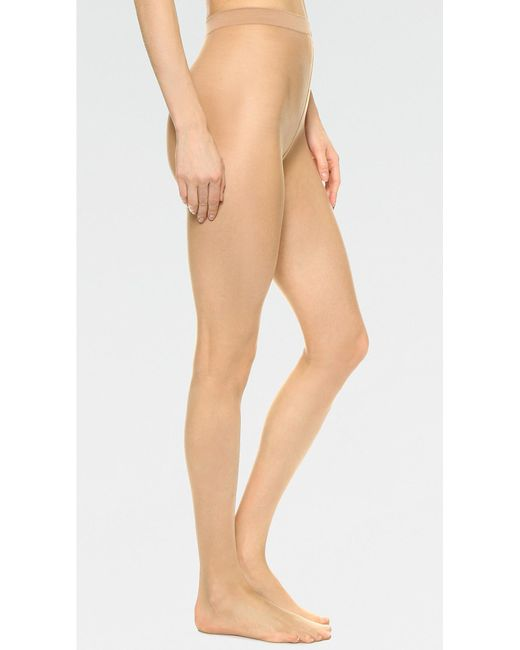 Wolford - Natural Naked 8 Tights - Lyst