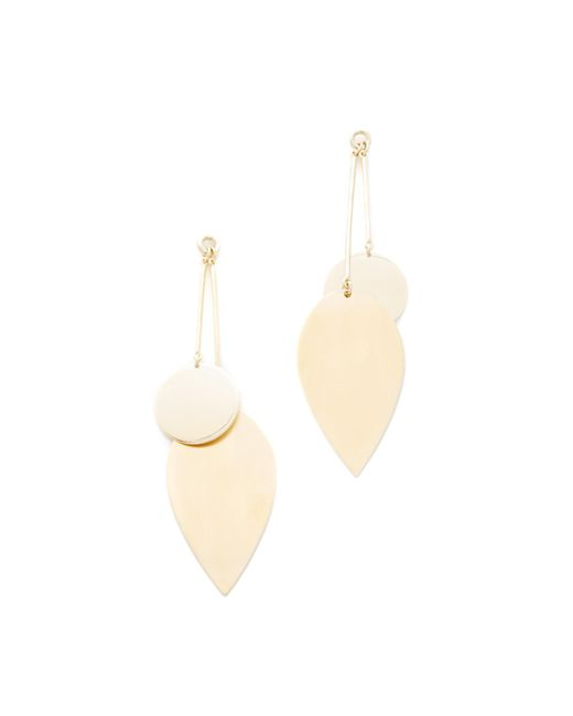 Elizabeth and James | Metallic Avalon Earrings | Lyst