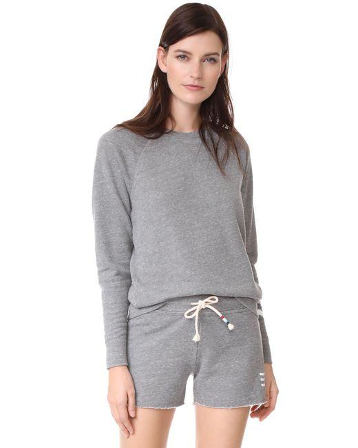 Sol Angeles - Gray Sol Essential Sweatshirt - Lyst