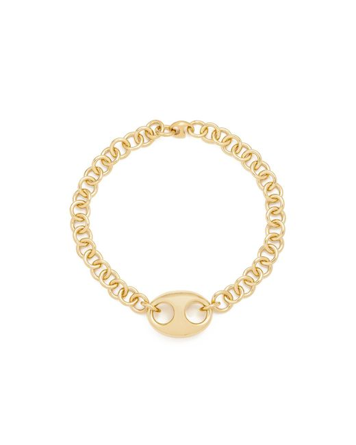 Gabriela Artigas | Metallic Egg Link Chain Choker Necklace | Lyst