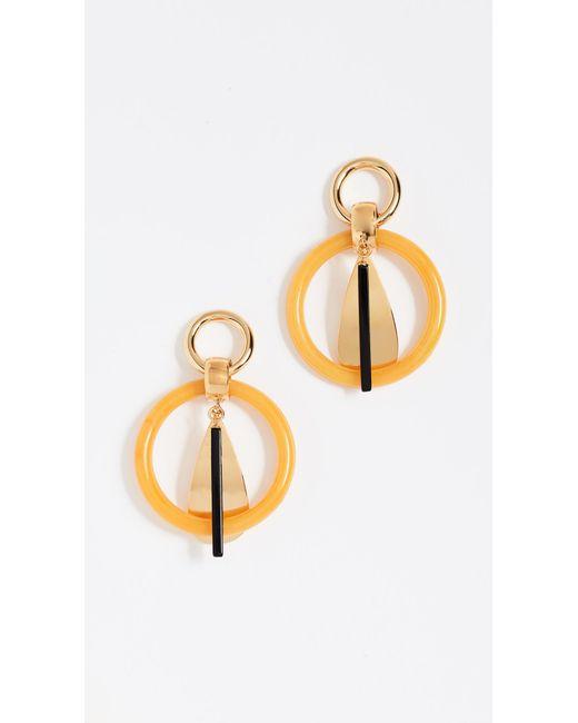 Lizzie Fortunato - Metallic Amber Modern Earrings - Lyst