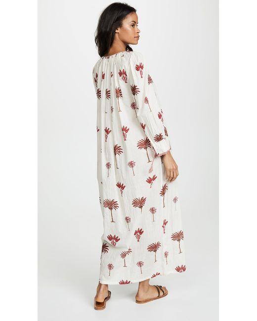 ... Antik Batik - Multicolor Palmio Long Dress - Lyst ... 195d2dec1