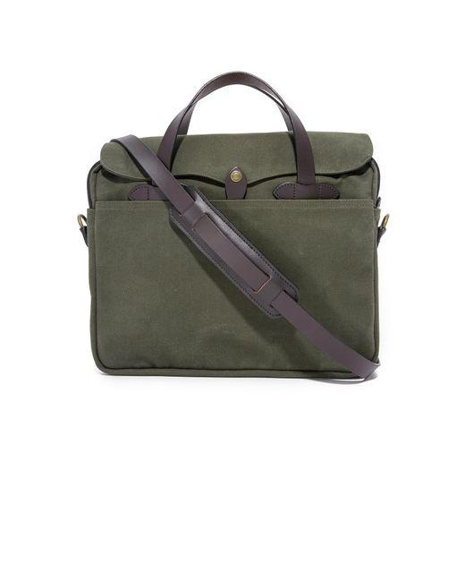 Filson - Green Original Briefcase - Lyst