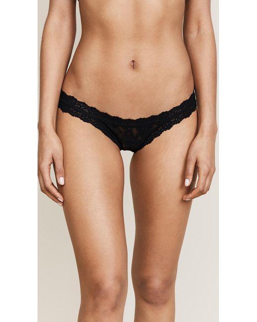 Hanky Panky - Black Signature Lace Brazilian Bikini - Lyst