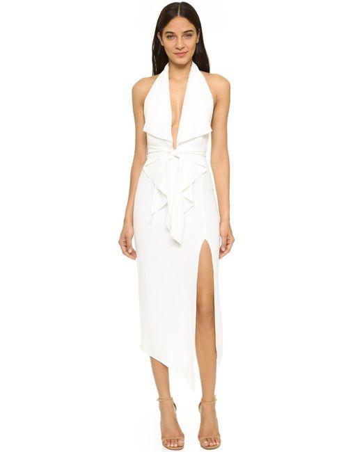 Misha Collection - White Lorena Dress - Lyst