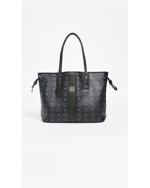 MCM - Black Shopper Tote - Lyst ... 8f73eb1d38a4a