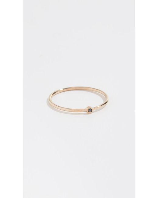 Zoe Chicco - Metallic 14k Thin Band Ring - Lyst