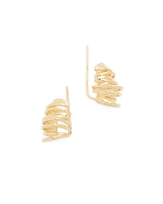 Elizabeth and James | Metallic Roxy Earrings | Lyst