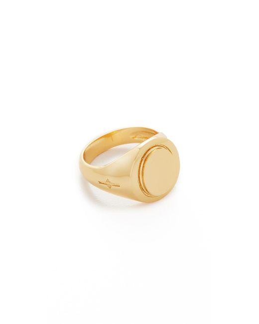 Gabriela Artigas | Metallic Signet Ring | Lyst