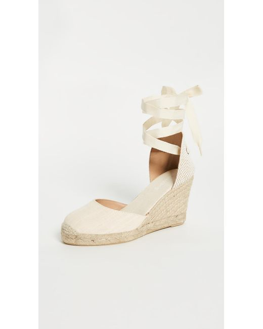 Soludos - Pink Tall Wedge Espadrilles - Lyst