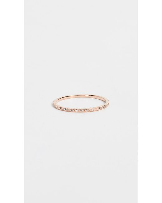 EF Collection - Pink Diamond Eternity Stack Ring - Lyst