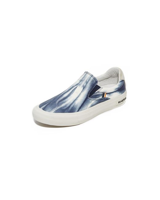 Seavees | Blue X Derek Lam 10 Crosby Hawthorne Slip On Sneakers | Lyst