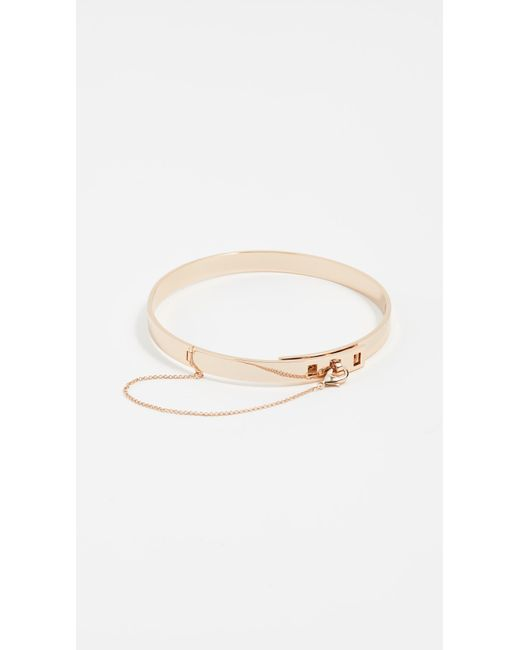 Eddie Borgo | Metallic Small Safety Chain Choker Necklace | Lyst