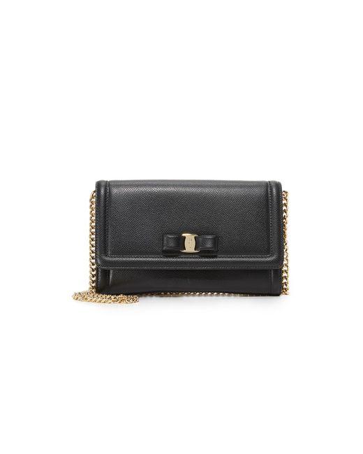 Ferragamo - Black Vara Mini Bag - Lyst