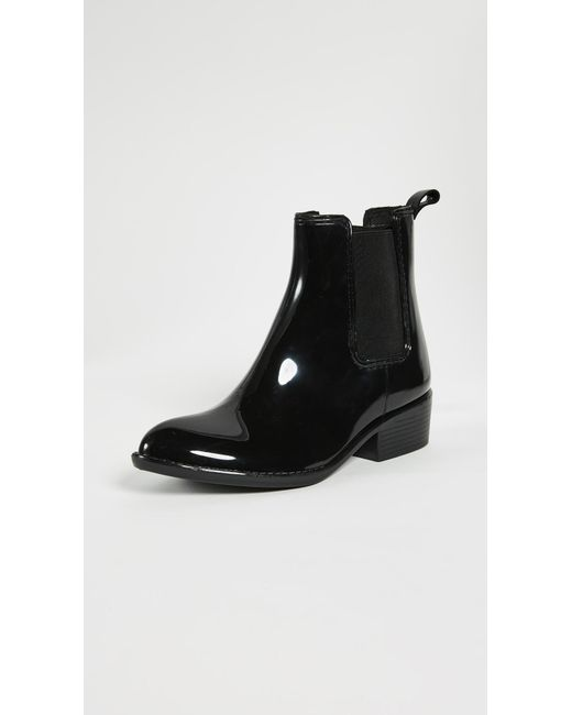 Jeffrey Campbell | Black Stormy Rain Booties | Lyst