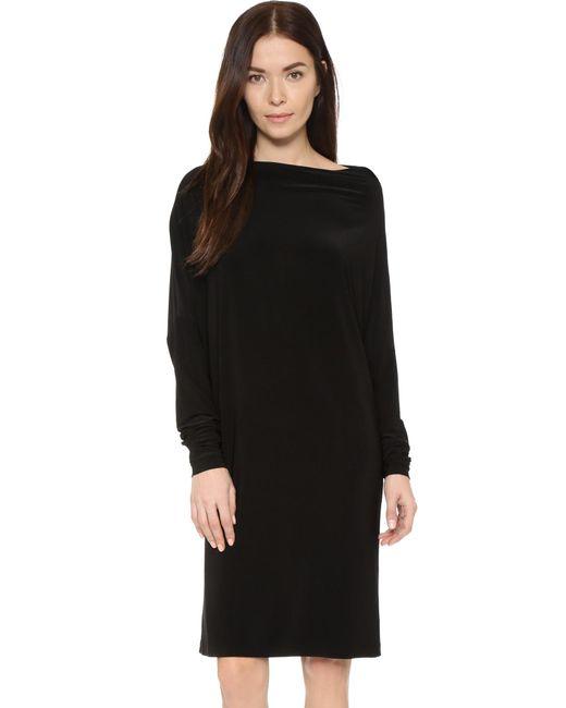 Norma Kamali   Black Kamali Kulture All In One Dress   Lyst