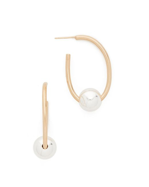 ONE SIX FIVE Jewelry | Metallic The Lorelai Earrings | Lyst
