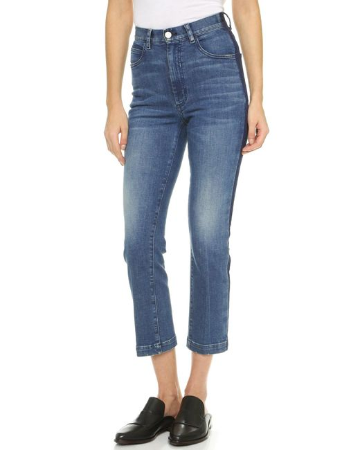 Rachel Comey | Blue Cropped Tux Jeans | Lyst