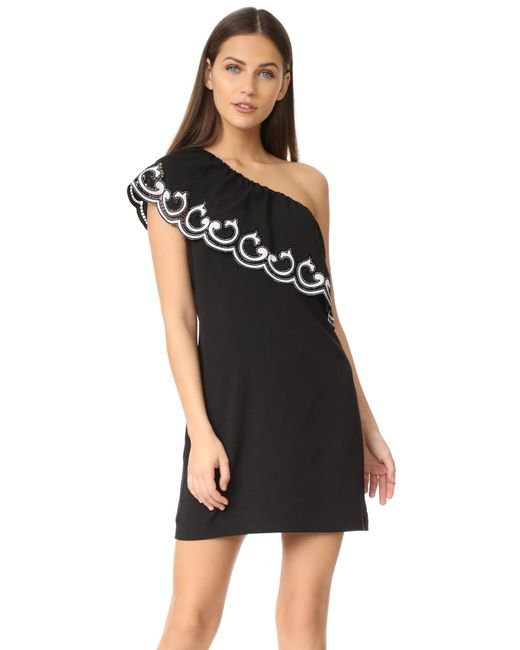 Ramy Brook | Black Darla Shift Dress | Lyst