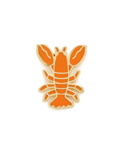 Georgia Perry | Red Lobster Lapel Pin | Lyst