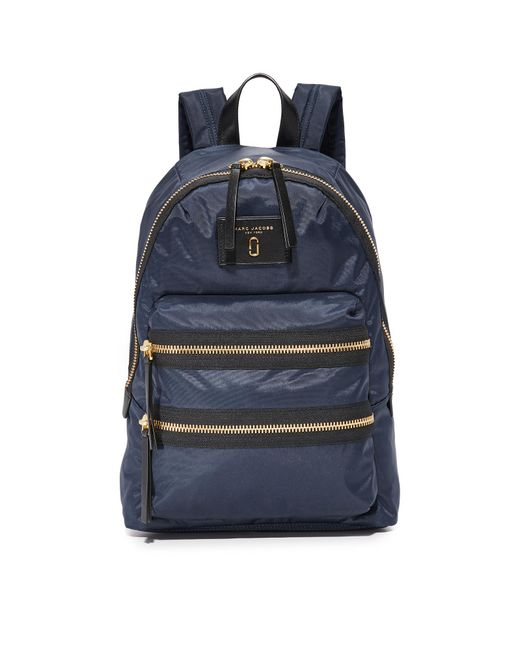 Marc Jacobs - Blue Nylon Biker Backpack - Lyst