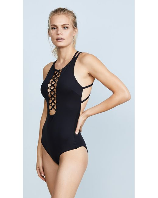 OndadeMar | Black Every Day In Colors One Piece | Lyst