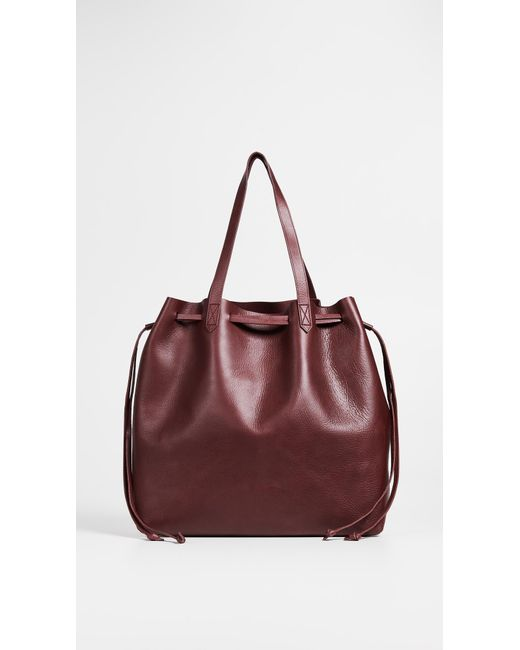 Madewell - Multicolor The Drawstring Transport Tote - Lyst