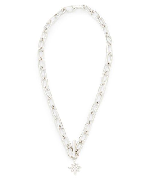 Rebecca Minkoff | Metallic Signature Link Star Charm Necklace | Lyst