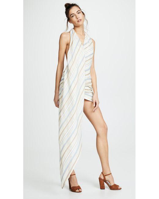 800ff5fab90 Jacquemus - Natural Spezia Dress - Lyst ...