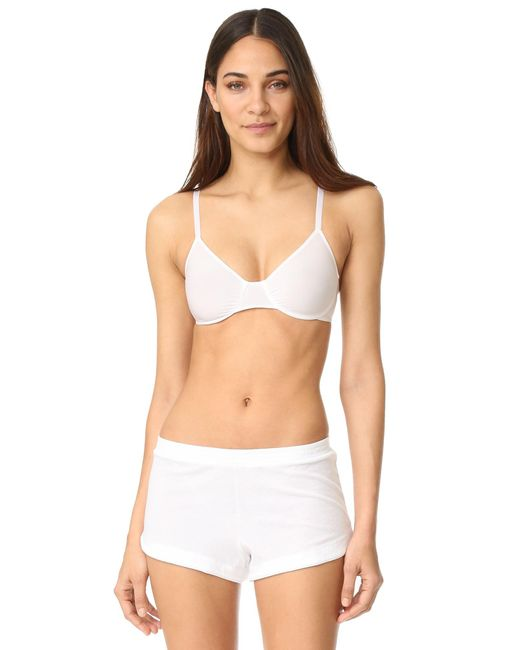 Only Hearts - White Second Skins Underwire Bra - Lyst