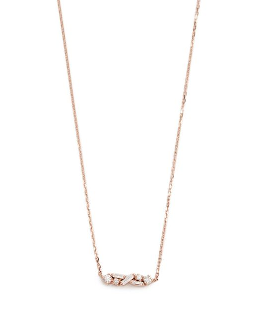 Suzanne Kalan - Metallic Fireworks 18k Gold Diamond Necklace - Lyst