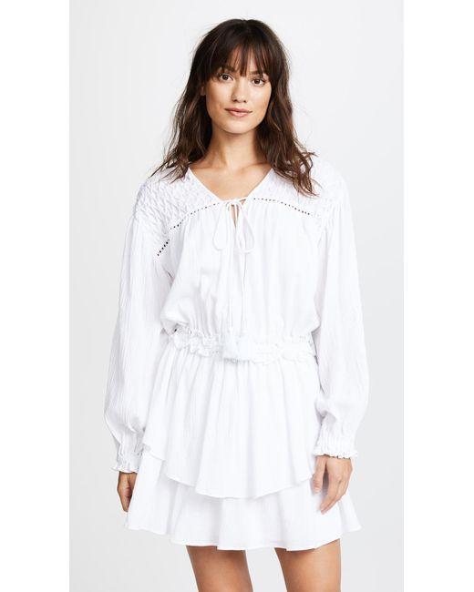 Steele | White Sierra Dress | Lyst
