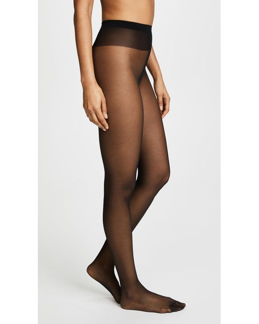 Wolford - Black Individual 10 Tights - Sand - Lyst