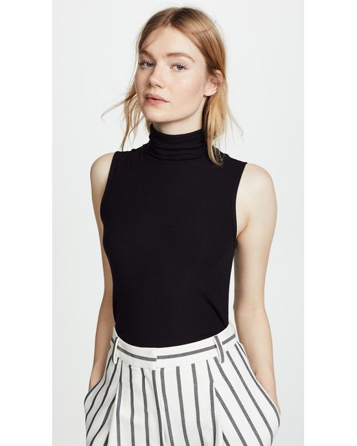 Theory - Black Wendel Sleeveless Sweater - Lyst