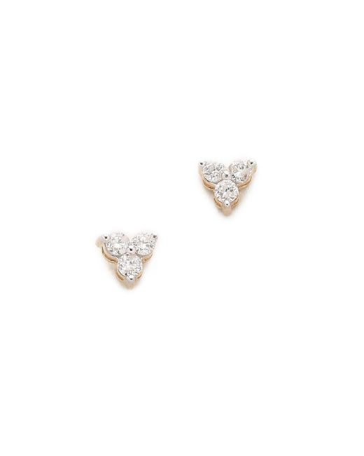 Adina Reyter | Metallic Diamond Cluster Earrings | Lyst