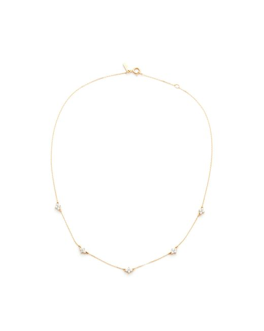 Adina Reyter | Metallic 5 Cluster Chain Choker Necklace | Lyst