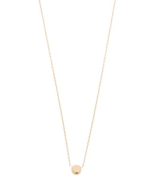 Adina Reyter | Metallic Super Tiny Disc Necklace | Lyst