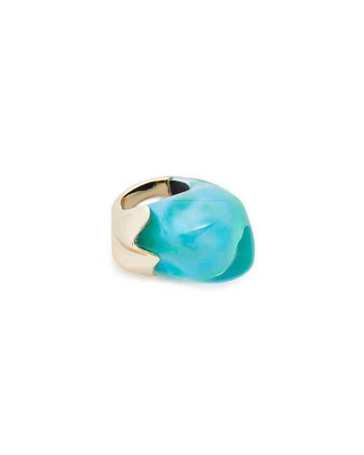 Alexis Bittar | Blue Domed Liquid Silk Cocktail Ring | Lyst