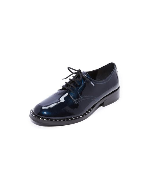 Ash   Blue Wilco Studded Oxfords   Lyst