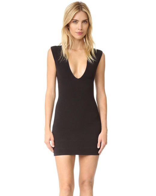 Bec & Bridge | Black Reversible Rib V Dress | Lyst