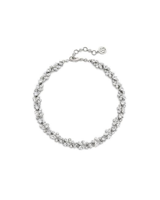 Ben-Amun | Metallic Crystal Wreath Necklace | Lyst
