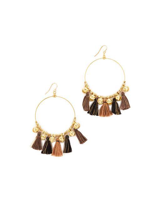Chan Luu   Multicolor Hoop Earrings   Lyst