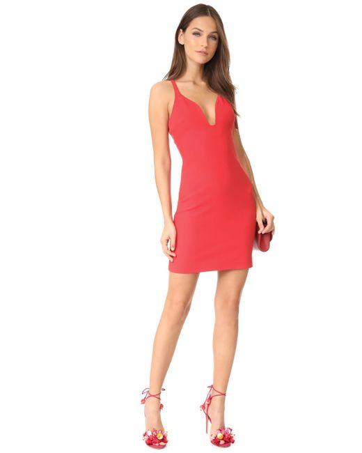 Cinq 224 Sept Ara Mini Dress In Red Lyst