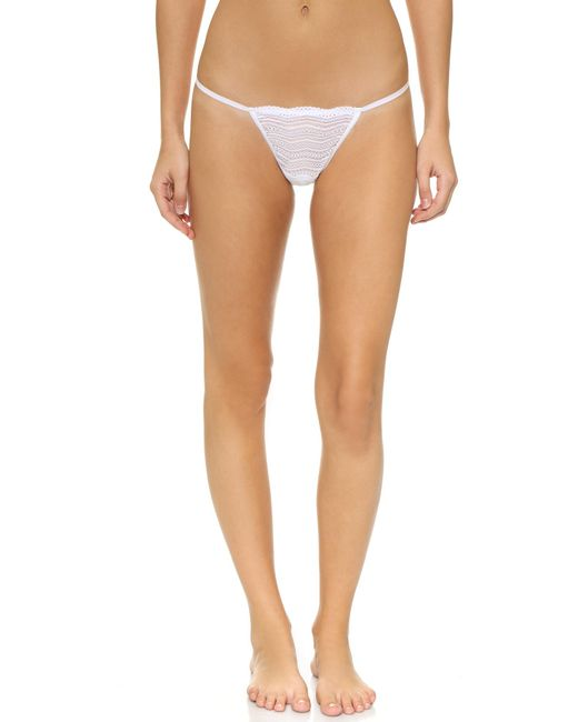 Cosabella | White Dolce G-string | Lyst