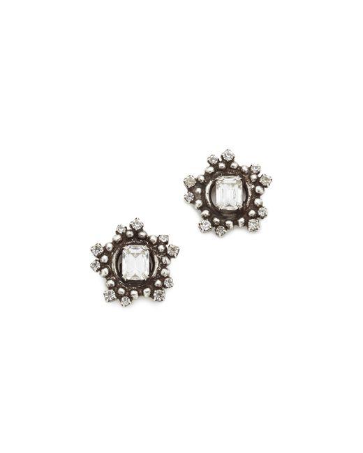 DANNIJO | Metallic Solstice Earrings | Lyst