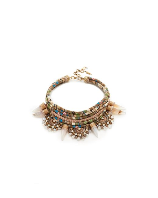 Deepa Gurnani | Natural Jarah Necklace | Lyst